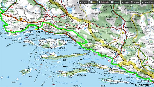 Croatie 2009   Jour 8 : Dubrovnik   Šibenik: Petits désagréments