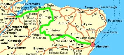 Ecosse 2007   Jour 7 : Inverness   Aberdeen : Le pays du whisky
